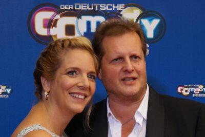 Jens Büchner mit Ehefrau Daniela. Foto: 9EkieraM1 - Eigenes Werk